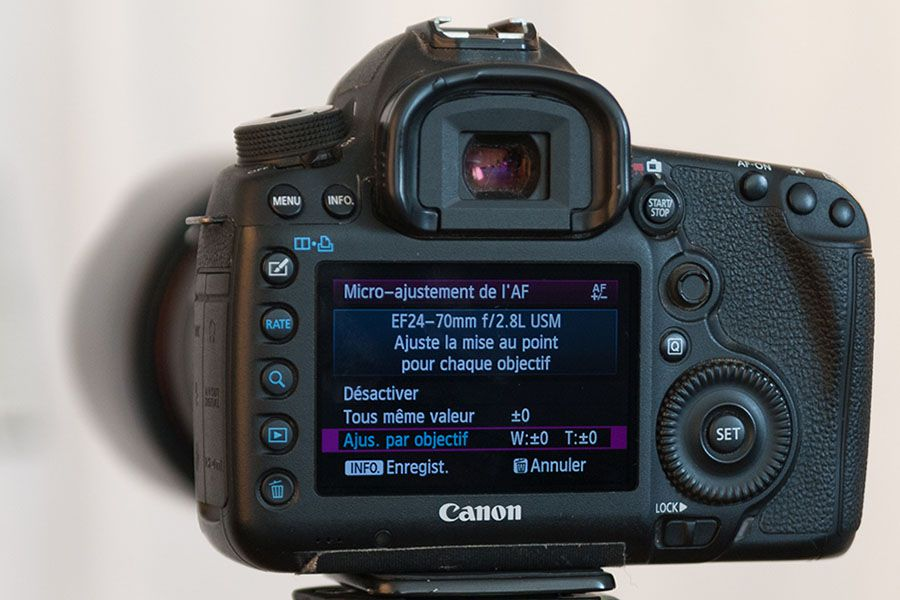 Tutoriel : ajuster l'autofocus de son appareil photo