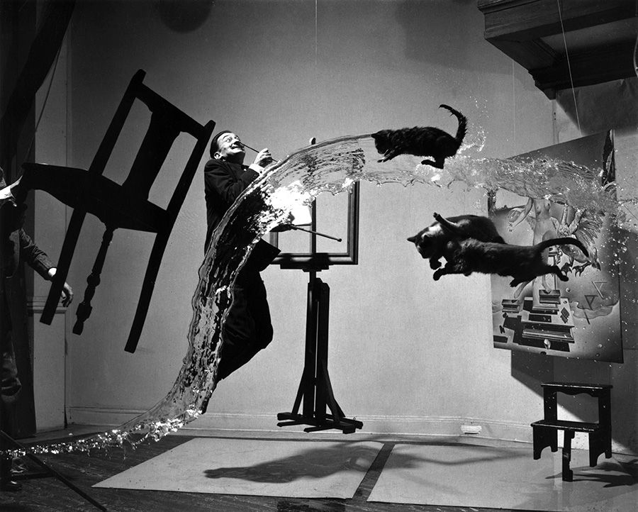 Dali Atomicus, photo Philippe Halsman