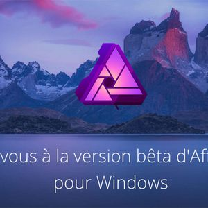 Affinity Photo enfin disponible sous Windows… en version bêta