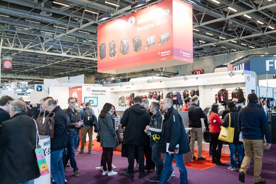 Stand Manfrotto au Salon de la Photo 2016