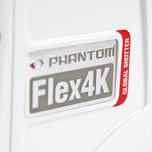 La Phantom Flex 4K se dote d'un global shutter