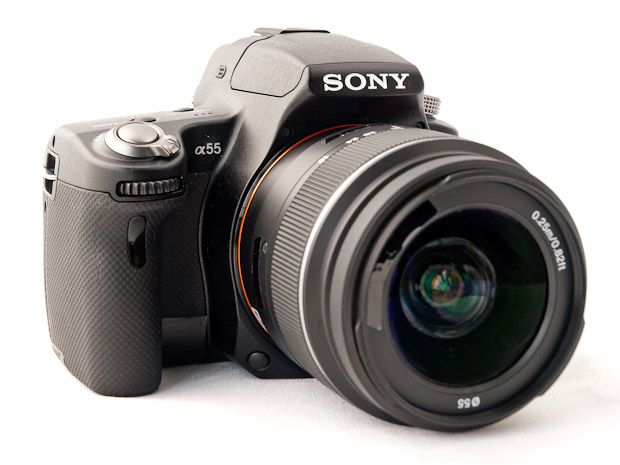 Sony Alpha 55 prise en mains