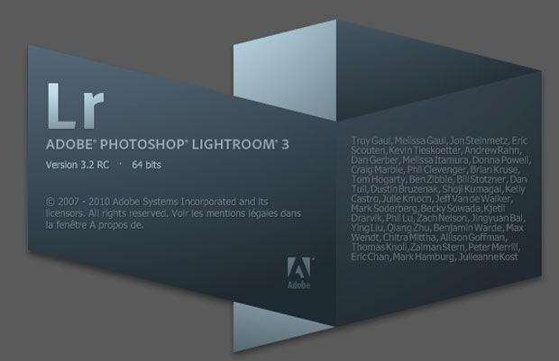 Adobe Photoshop Lightroom 3.2 RC