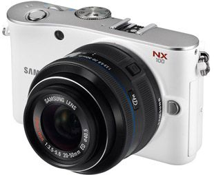Samsung NX100 test review