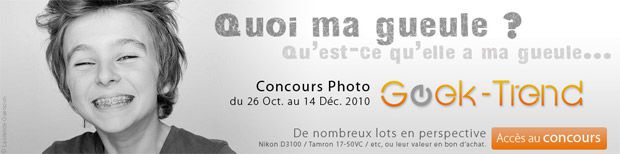 Concours Photo GeekTrend