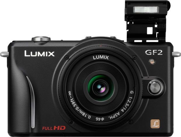 Panasonic GF2 face prise en mains