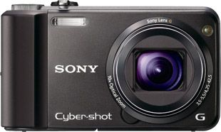 Sony Cyber-shot H70 face