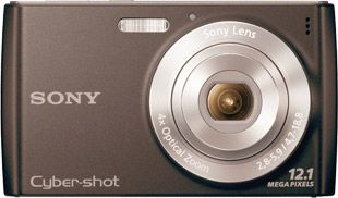 Sony Cyber-shot W510 face