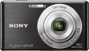 Sony Cyber-shot W530 face