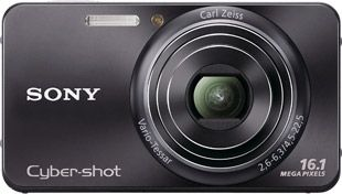 Sony Cyber-shot w570 face