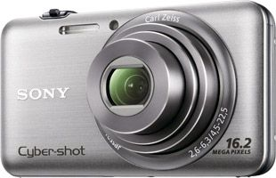Sony Cyber-shot WX7 face