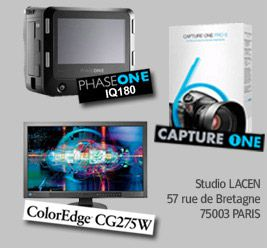 prophot phaseone iq160, coloredge cg275w, capture one 6.1 démonstration