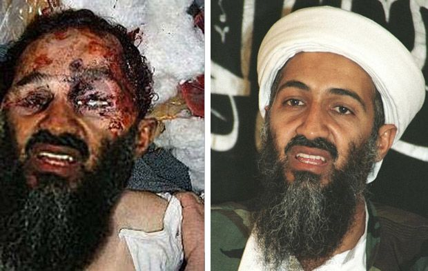 photomontage ben laden mort
