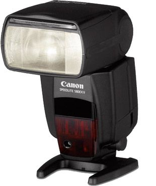 canon speedlite 580 EX II test review