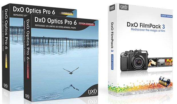 DxO Optics Pro 6.6 et Film Pack 3
