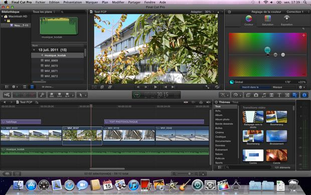 Apple final cut pro x test review avis