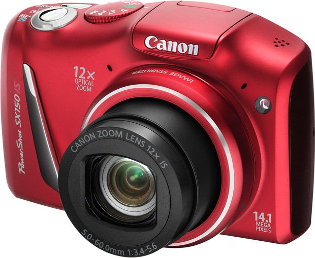 Canon PowerShot SX150 IS face
