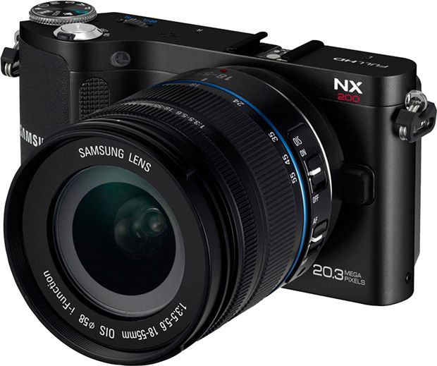 Samsung NX200 test review