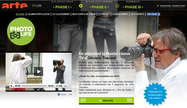 Photo For Life le site internet