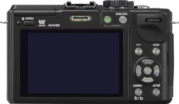 Panasonic GX1 dos interface