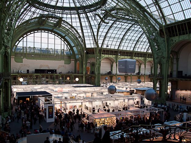 Paris Photo 2011 : Grand Palais photo intérieur