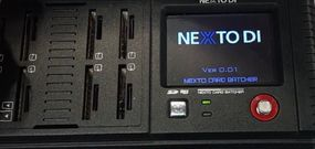 NextoDI NCB-20 : décharger 8 cartes SD en même temps