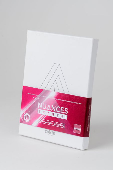 Cokin Nuances Extreme filtre dégradé centré packaging
