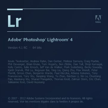 Adobe Lightroom 4.1 RC