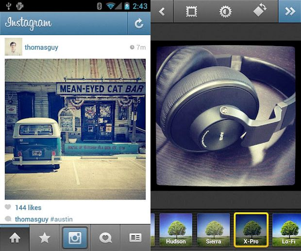 Instagram pour Android enfin