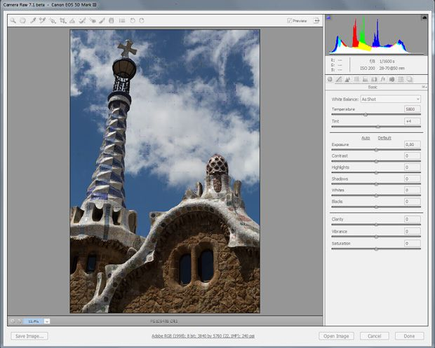 Adobe Camera Raw 7.1RC