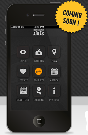 Application iphone Arles