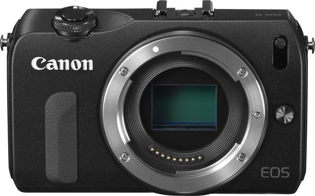 Canon EOS M face sans optique