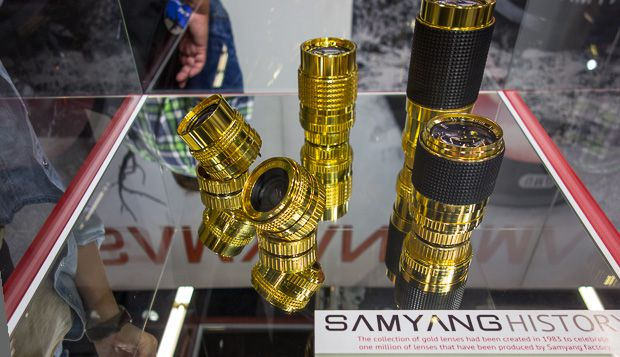 Samyang gold lenses