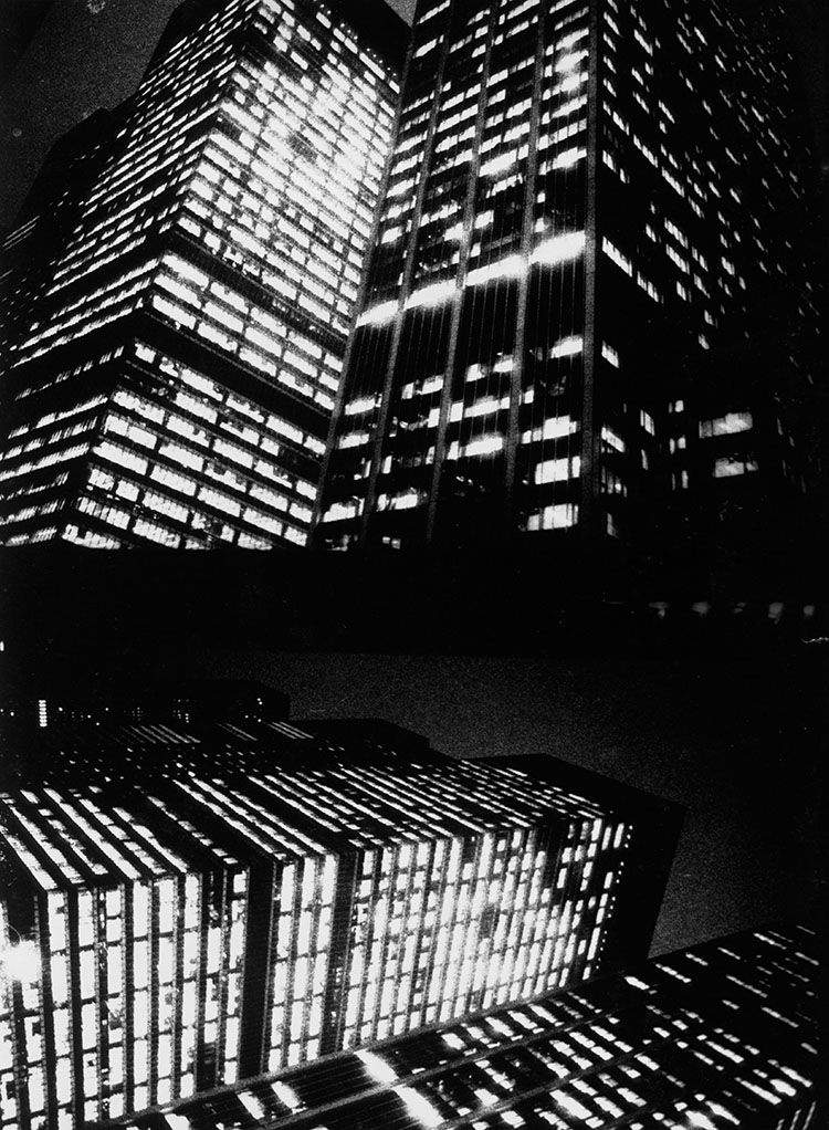 Immeuble, Another Country in New York, 1971. © Daido Moriyama