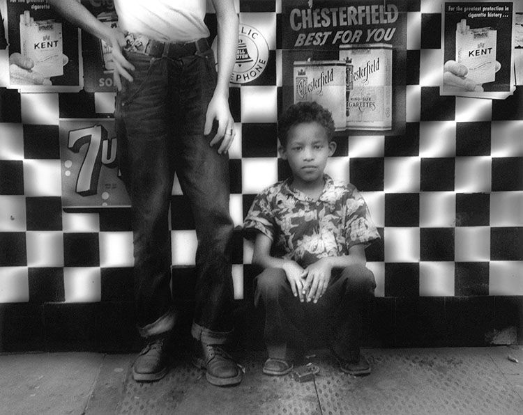 Candy Store, New York, 1955. © William Klein