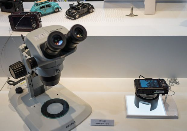 Olympus TG-2 VS microscope