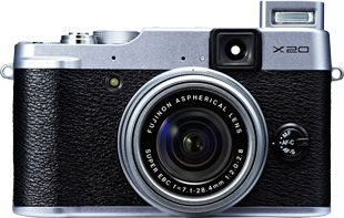 Fujifilm X20 test review