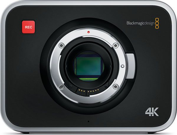 Blackmagic design camera production