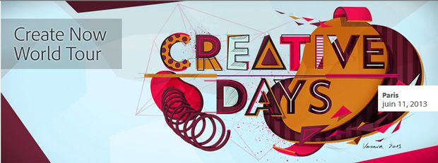 Adobe Creative Days 2013 - le 11 juin
