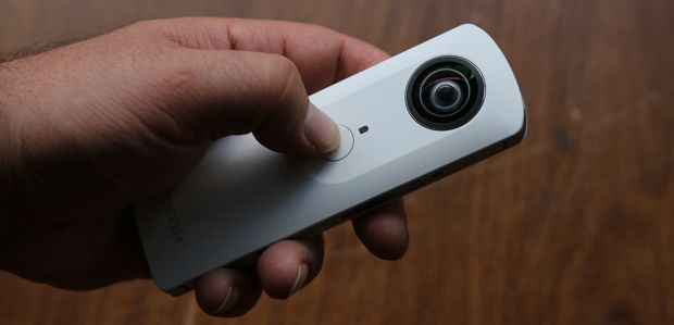 Ricoh Theta test review prise en mains
