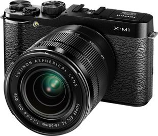 Fujifilm X-M1 test review