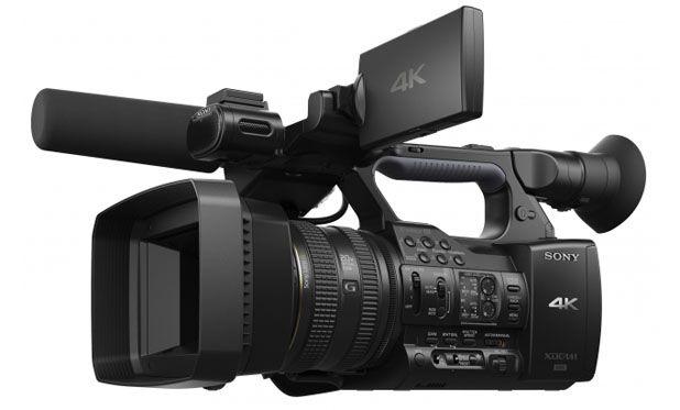 sony annonce le cam scope 4k de cin ma num rique pxw z100 actus focus num rique. Black Bedroom Furniture Sets. Home Design Ideas