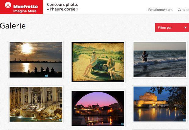 Concours photo Manfrotto
