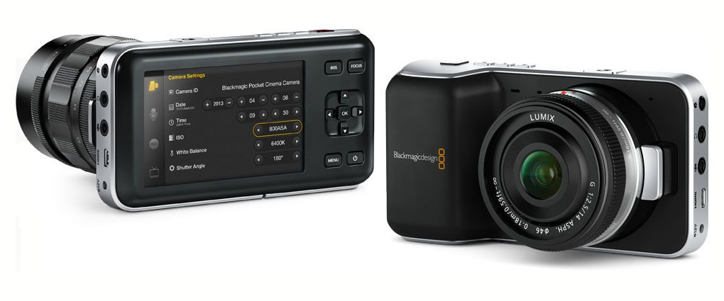 Blackmagic Pocket Cinema Raw 12 bits