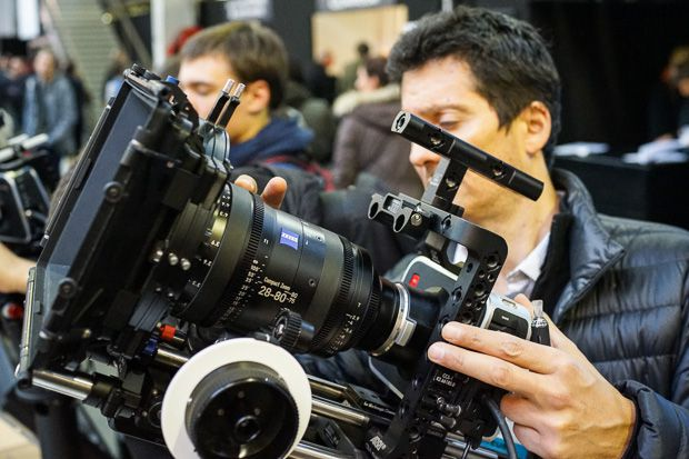 SATIS Black Magic Cinema 4K production