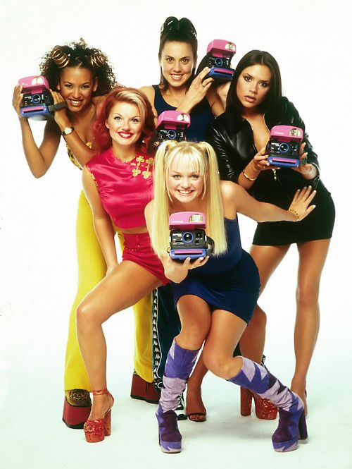Spice Girls Polaroid