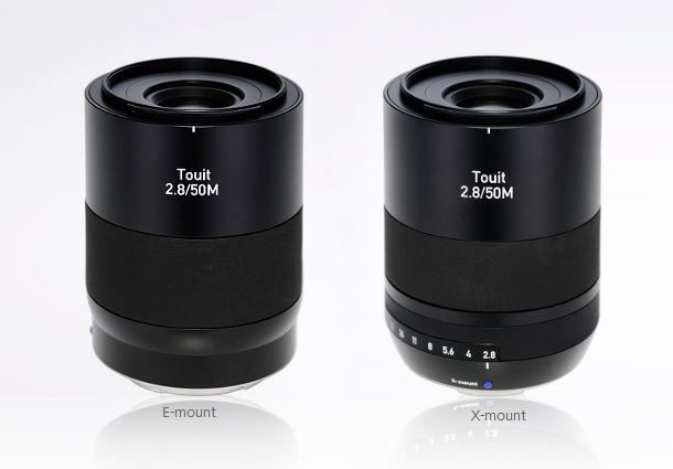 touit 50 mm f/2,8