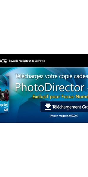 Cyberlink Photodirector 4 gratuit