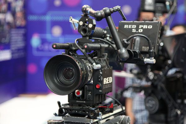 FilmArt 2014, Hong Kong, Caméra Red Epic Dragon