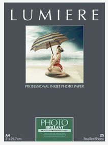 Lumière Imaging, papier photo Lumiere Photo brillant